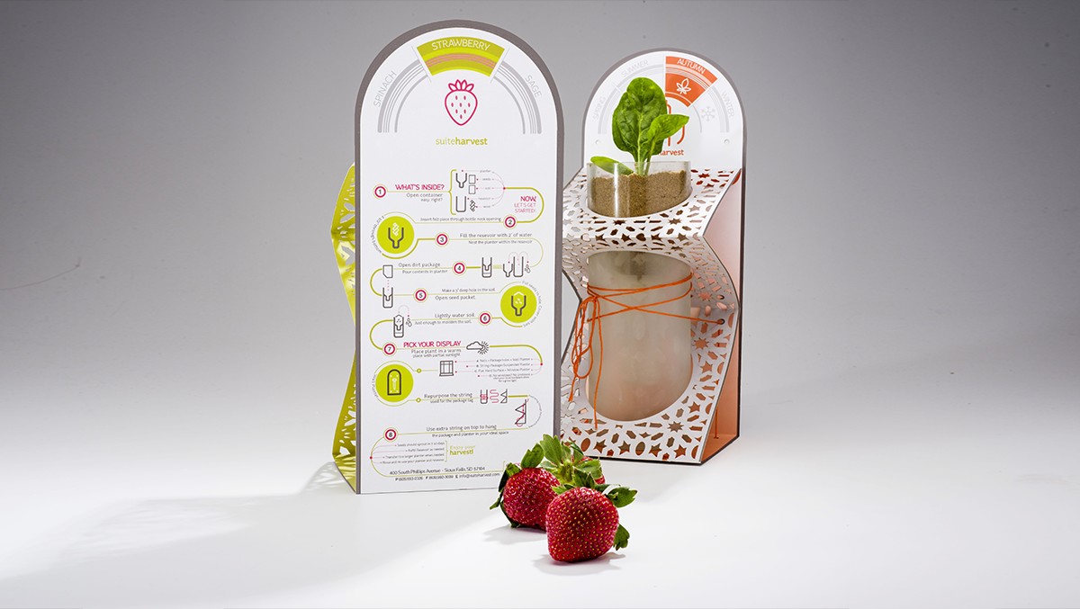 Bottle Planter Packaging Design